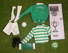 VINTAGE ACTION MAN 40th SPORTSMAN FOOTBALL CLUB CELTIC LOOSE 1/6 SCALE