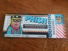 Phish MSG Lucite Magnet New Year's Run 2016 12/30/16 (not pollock baker's dozen