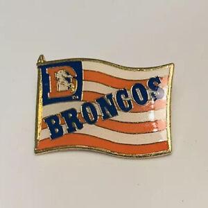 Vtg Denver Broncos NFL  Hat Pin 1994 Raintree