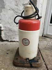 Lincoln Grease pump outfit with dolly. Garage.Shop.Lubester. Oil Grease Can Pump