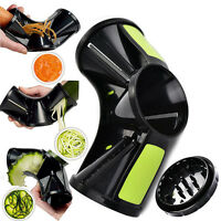 3 In 1 Spiral Vegetable Slicer Pasta Maker Spiralizer Veggie Cutter Spaghetti UK