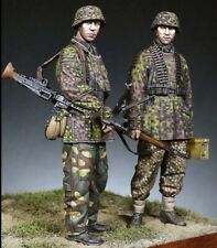 "1:35 ""Machine Gun Crew"" Resin Figure Model Unassambled Unpainted (W)"