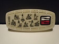 Oregon Light Houses Cribbage Board 2 Player Noncontinuous Nautical