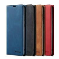 Wallet Leather Flip Magnetic Shockproof Card Holder Case For OnePlus 7 & 7 Pro