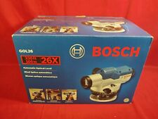Bosch Gol26 Automatic Optical Level with Original Box, Case, Paperwork