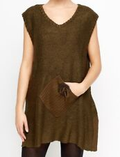 NEW NESLAY LAGENLOOK SLEEVELESS TUNIC JUMPER FOR  LAYERING  FITS SIZE 18 20 22