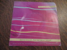 45 tours david bowie/pat metheny group this is not america