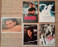5 carte postale cinéma Patrick Swayze Roadhouse Gost Tiger Warsaw Dirty Dancing