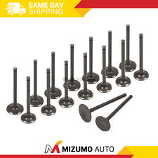 Intake Exhaust Valves Fit 93-03 Mazda MX6 626 Ford Probe 2.0L FS DOHC