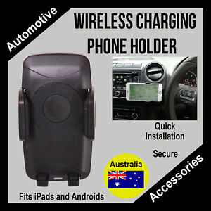 VW Amarok Accessory - Wireless charging Phone Holder
