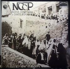 Italian Folk LP by NCCP Nuova Compagnia di Canto Popolare 1973 EMI Bennato