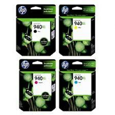 NEW Genuine HP 940XL Cyan Black Magenta Yellow Ink Cartridges  NO RETAIL BOX