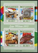 Mozambique 2015 Milan Exposition 2016 Sheet Mint Never Hinged