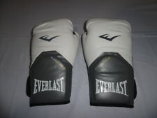 Everlast Pro Style Elite 12 oz Training Boxing Gloves - White - EverShield 12oz.
