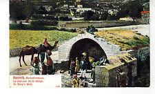 ISRAEL CPA POSTCARD CARTE POSTALE : NAZARETH : ST. MARY'S WELL