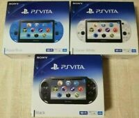 SONY PS Vita PCH-2000 Used in Japan Various colors Good Condition express by DHL