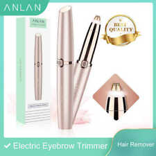 ANLAN , MINI ELECTRIC EYEBROW ,TRIMMER SHAVER , WOMEN PAINLESS HAIR REMOVAL
