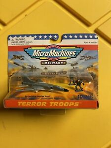 Micro Machines Military Terror Troops Tupolev TU-26 Backfire-B Supersonic Bomber