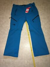 The North Face CHAKAL Insulated Stretch Ski Pants Hyper Blue Men XL All Mountain