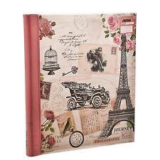 Arpan Pink Travel Large Self Adhesive Photo Album 20 Sheets 40 Sides - CL-FL40