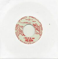 TOMMY NAVARRO   I CRIED MY LIFE AWAY/ CLUB OF BROKEN HEARTS    DE-JAC  Re-Issue