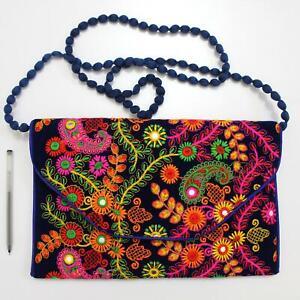 Vintage Tribal Banjara Indian Handmade Ethnic Women Purse Patchwork Clutch Bag