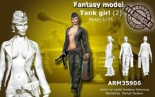 *1:35-317 TANK Girl Resin Figure Model Kit Unassambled Unpainted