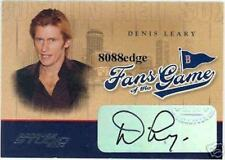 "2004 FANS OF THE GAME AUTO CARD: DENIS LEARY - AUTOGRAPH ""ICE AGE"""