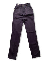 Vintage Western  ETHICS Women's Purple Mom Jeans Size 9/10 X 36 NEW High Waist