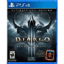 NEW Diablo III 3 Reaper of Souls Ultimate Evil Edition (PlayStation 4, 2014)