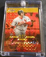 2003 JIM EDMONDS TOPPS FINEST GOLD XFRACTOR #16 CARDINALS 070/199