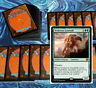 mtg GREEN +1/+1 COUNTERS DECK Magic the Gathering rares 60 cards pelt collector