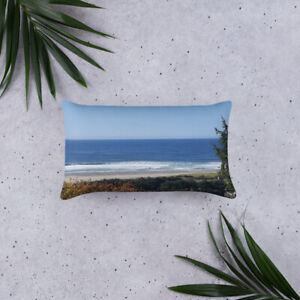Double-Sided Pacific Ocean Pillow:  Provides Natural Relaxation & Decor