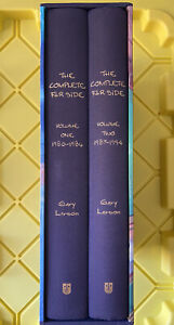 The Complete Far Side: 1980-1994 By Gary Larson 2-Volume Box Set Hardcover First