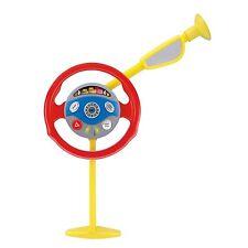 Casdon Spielzeug Elektronisch Rücksitz Fahrer Lenkrad mit Lampe & Klang- Neu