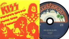 ★☆★ CD Single KISS Rock And Roll All Nite 2-track CARD SLEEVE  Getaway ★☆★