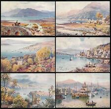 Raphael Tuck & Sons Posted Collectable Postcard Sets