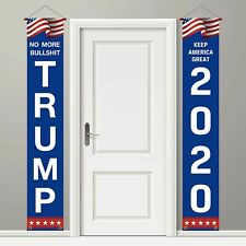 2 President Trump 2020 Keep America Great Flag Large Banners Outdoor Yard Sign