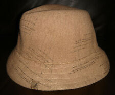 Kangol Laine Carreaux Gaffer Trilby Hat Rp £ 35 Neuf Boho Chic