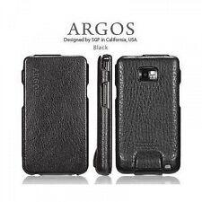 SGP custodia vera pelle Leather Case Argos Series per Samsung Galaxy S2 Black