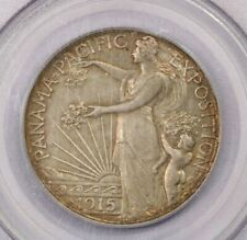 1915-S 1915 Panama Pacific Pan-Pac 50c PCGS MS60 Old Green Holder