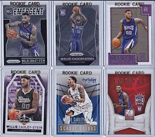 6X PRIZM LOT 2015-16 WILLIE CAULEY-STEIN ROOKIE RC HOOPS DONRUSS KINGS KENTUCKY