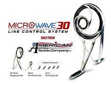 MicroWave 30 Spinning Guide Set- Duralite-Black (DBMW30-SET) & Tip Top
