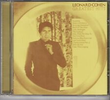 LEONARD COHEN Greatest Hits CD REMASTERED EDITION COLUMBIA COL CD32644