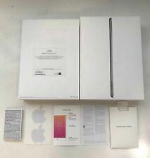 iPad BOX ONLY 6th Generation 32GB WiFi Space Gray Model A1893 Empty Box