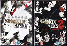 SMOKIN ACES 1 & 2 Assassin's Ball Affleck*Reynolds*Piven Action Thriller DVD EXC