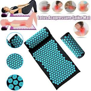 Yoga Massage Acupressure Mat Shakti Sit Lying Mats Pain Stress Soreness Relax