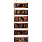 Wall Bar Décor – Bar Accessories for Home Pub, Beer Signs, Rustic Art Pub Sign