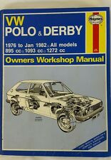 vw polo and derby 1976 to 1982 haynes manual