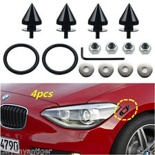 4pcs Black JDM Quick Speed Release Fasteners Kit For Bumpers &Trunk Fender Lids
